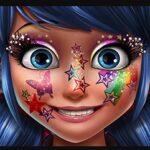 Maquillage Glitter Ladybug