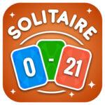 Math Solitaire: gardez le nombre entre 0 et 21