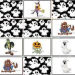 Jeu de Mémoire d'Halloween