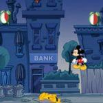 Mickey éteint les alarmes; Pluto dort