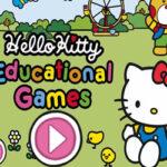Mini jeux éducatifs Hello Kitty
