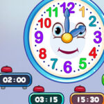 Heures d'horloge avec Monsieur Horloge