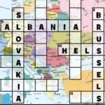 Mots Croisés de l'Europe en anglais