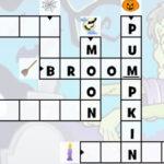 Mots croisés d'Halloween en Anglais