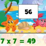 Puzzles de Multiplication d'été
