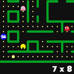 Tables de multiplication Pacman