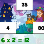 Multiplications à Halloween