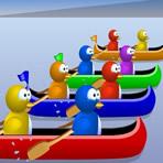 Pingouins en canoë: Multiplier