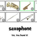 Décodage de l'instrument de musique