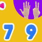 Les nombres avec les doigts