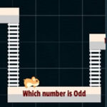 Les nombres pairs et impairs avec le hamster