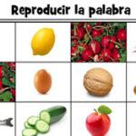 Puzzle de la Nourriture en Espagnol
