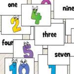 Numéros en anglais: 1 à 10
