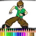 Coloriage Ben 10