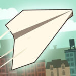 Paper Flight: lancer l'avion de papier