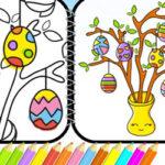 Coloriage dessins de Pâques