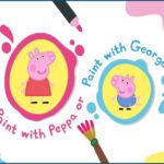 Peppa et George: Boîte à peinture