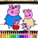 Coloriage Peppa Pig