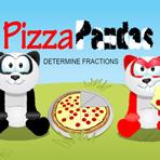 Fractions de pizza avec pandas