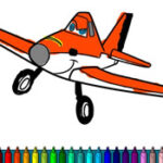 Avions à colorier – Disney