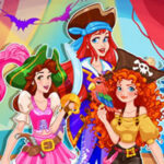 Habillage de Princesses Pirates pour Halloween