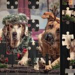 Puzzle du chien de Noël