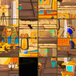 Puzzle Coulissan sur l'Egypte