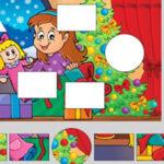 Puzzle éducatif de Noël