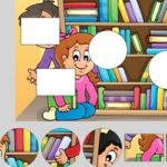 Puzzle de formes: École