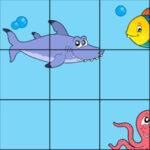 Puzzle en mouvement pour les enfants