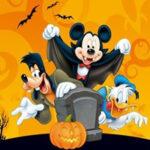 Puzzle d'Halloween de Mickey