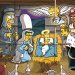 Puzzle de Noël des Simpsons