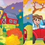 Puzzle Vertical d'automne
