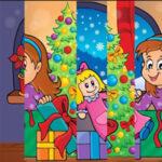 Puzzle vertical de Noël