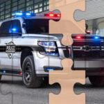 Puzzles des Voitures de Police