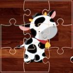 Puzzles d'animaux de Ferme