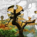 Puzzles Arbres d'automne