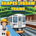 Puzzles de formes avec des Trains