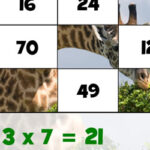 Puzzles Multiplication