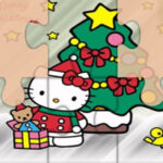 Puzzles de Noël de Hello Kitty