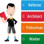 Quiz de Professions en Anglais