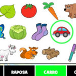 Recherche d'objets en Portugais
