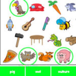 Recherche d'objets en anglais