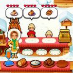Le restaurant d'Emily à Noël