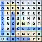 Les Romains. Soupe de Lettres en Espagnol