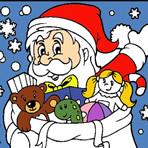 Coloriage du Père Noël