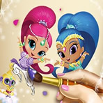 Shimmer and Shine Coloriage