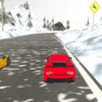 Simulateur de Course de Voitures de Neige