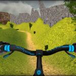 Simulateur de vélo MTB