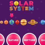 Système Solaire en anglais